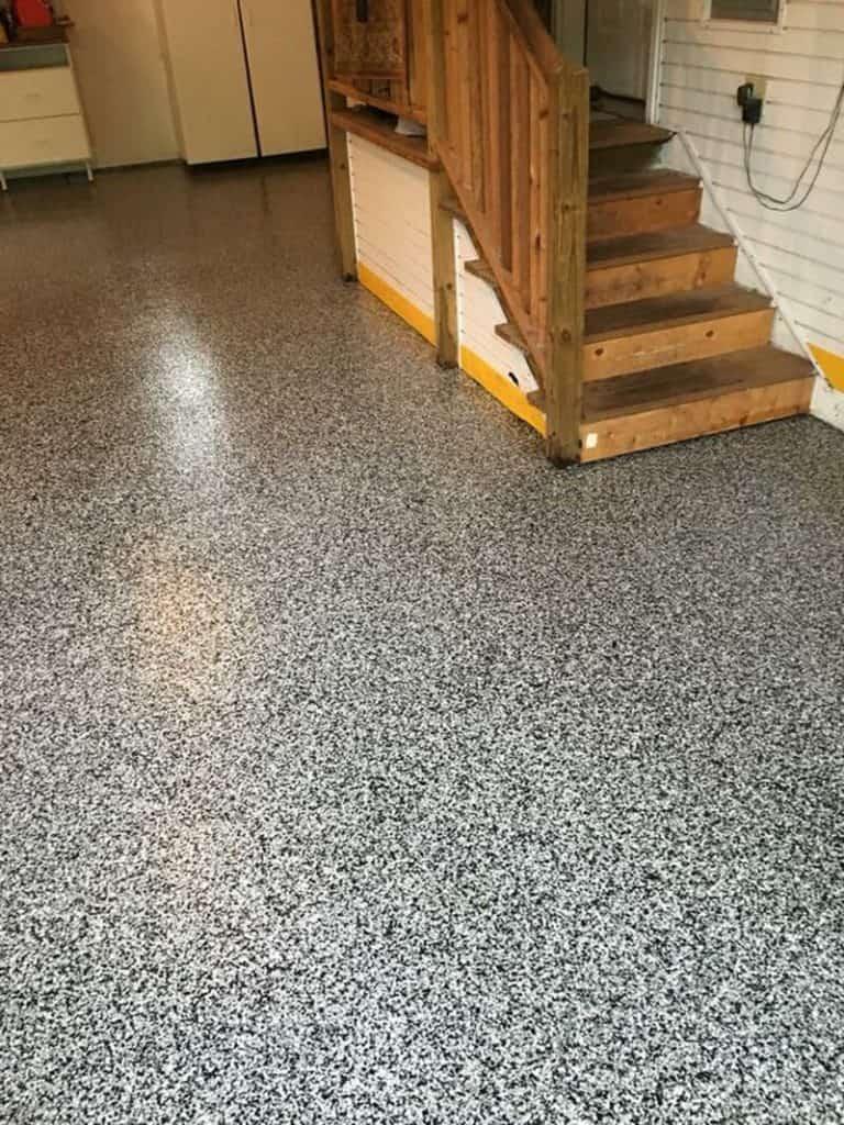 garage flake floors