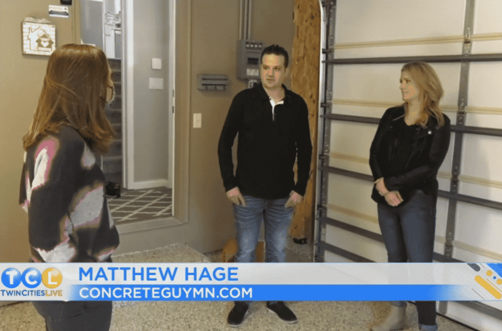 Matthew Hage The Concrete Guy on Twin Cities Live-