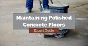 Maintaining Polished Concrete Floors